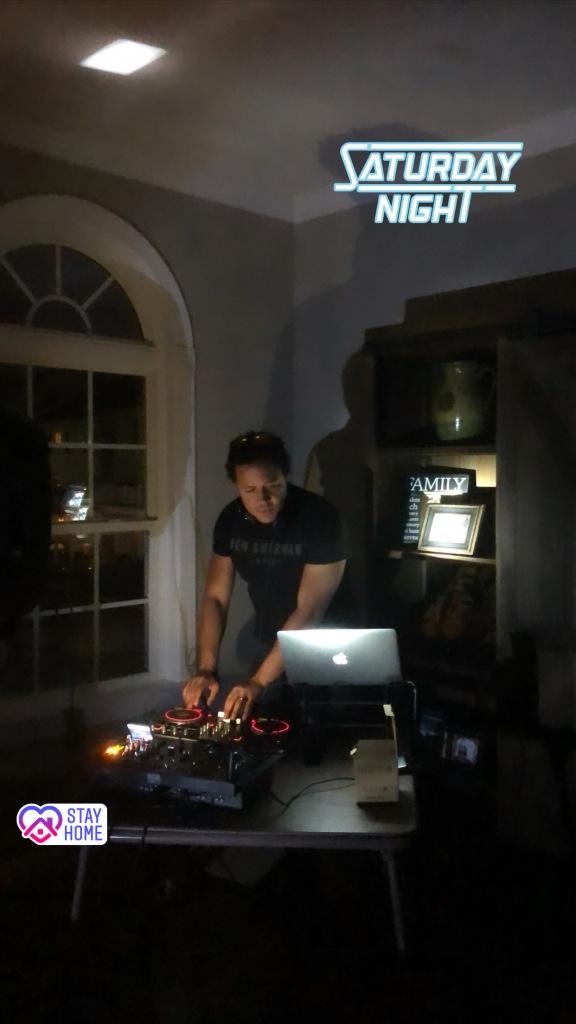 Image of a DJ setup.